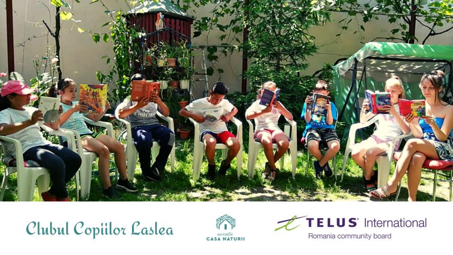 You are currently viewing Educația se poate și la sat: Clubul Copiilor Laslea