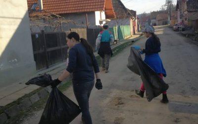 Tură de curățenie la Mălâncrav