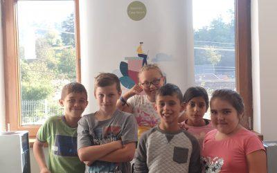 Mălâncrav, octombrie 2019: Matematica digitală la noi la școală