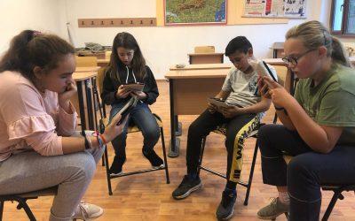 Mălâncrav: clubul de lectură digitală