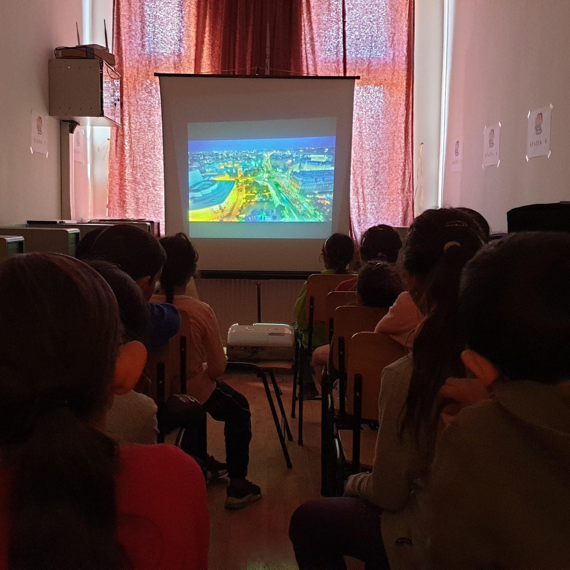 Mălâncrav, martie 2020: Film și educație ecologică la școală