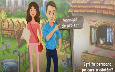 Februarie 2021: Căutăm project manager
