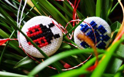 Handmade lucky charms